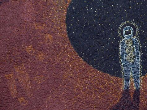 Astronaut II detail