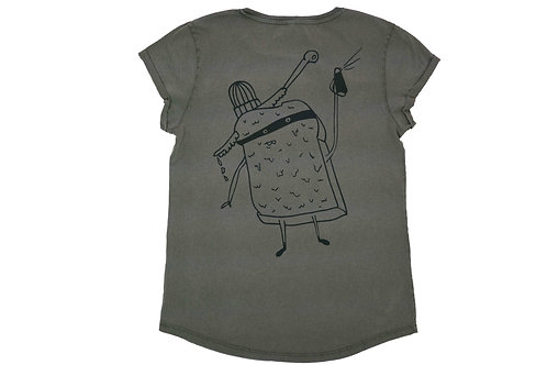 Buttertoast Rolled Up T-Shirt
