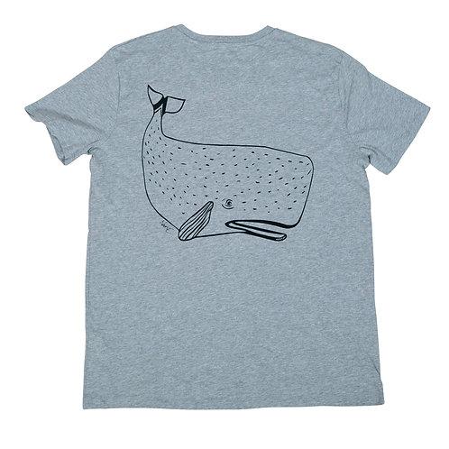 Whale Backprint T-Shirt