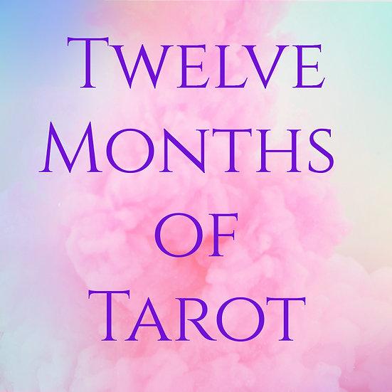Twelve Months of Tarot-Astro Sessions
