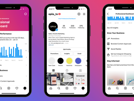 "Instagram Launches a New Feature for Creators called the ""Professional Dashboard"""