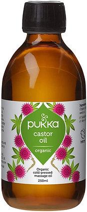 Pukka Herbs Castor Oil, Organic & Cold-Pressed, 250ml Bottle