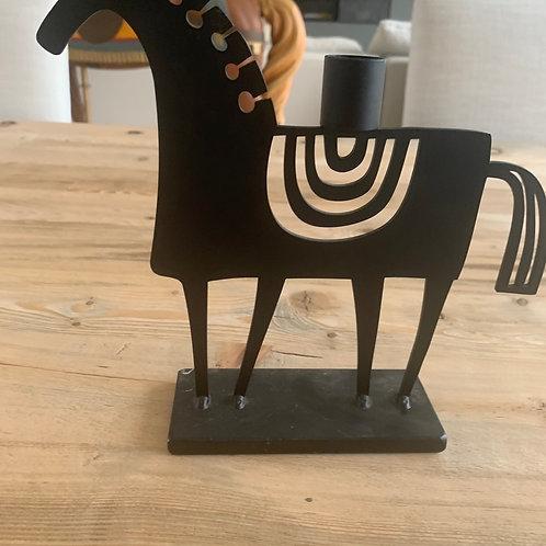 Horse Candle Holder