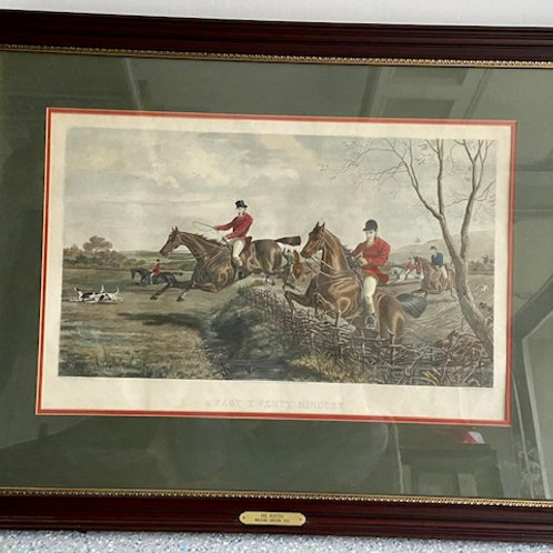 Auction- Fox Hunting Scene 4