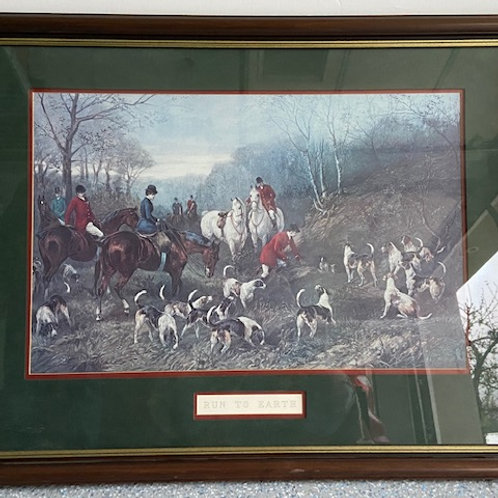 Auction- Fox Hunting Scene 1