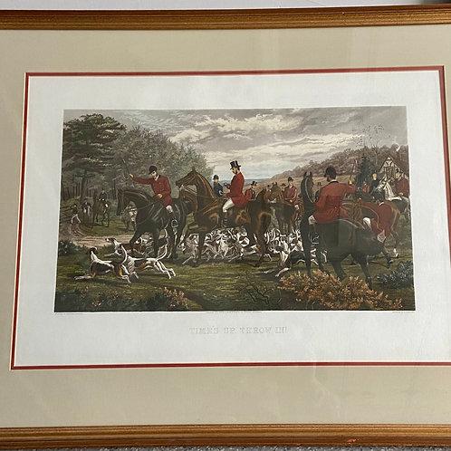 Auction- Fox Hunting Scene 6