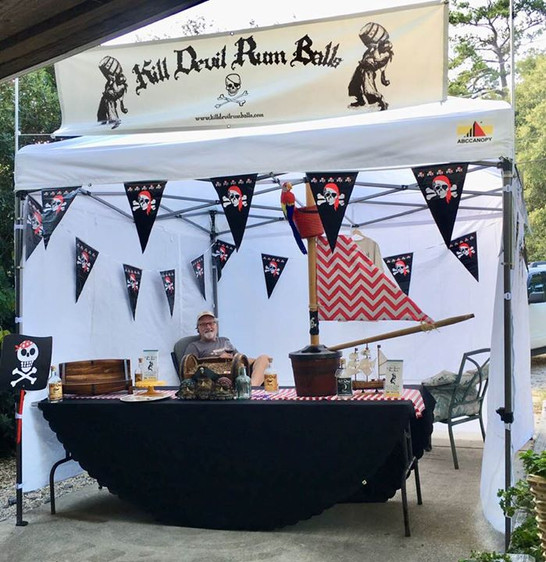 Kill Devil Rum Balls ready for the pirat