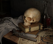 skull on desk.jpg