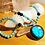 Thumbnail: Magnifique collier en perles naturelles et argent 925