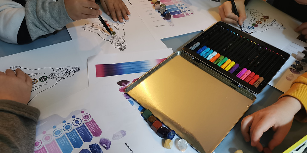 Atelier art-thérapie pour les petits