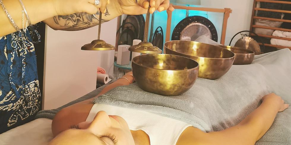 Formation massage aux bols Tibétains