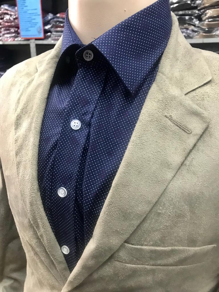 blazer chamois