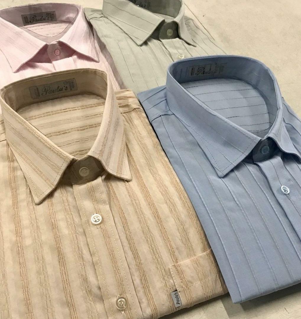 camisa maquinetada tamanhos do 1 ao 10