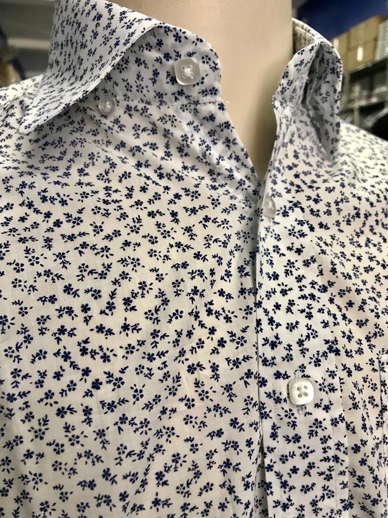 camisa florida slim