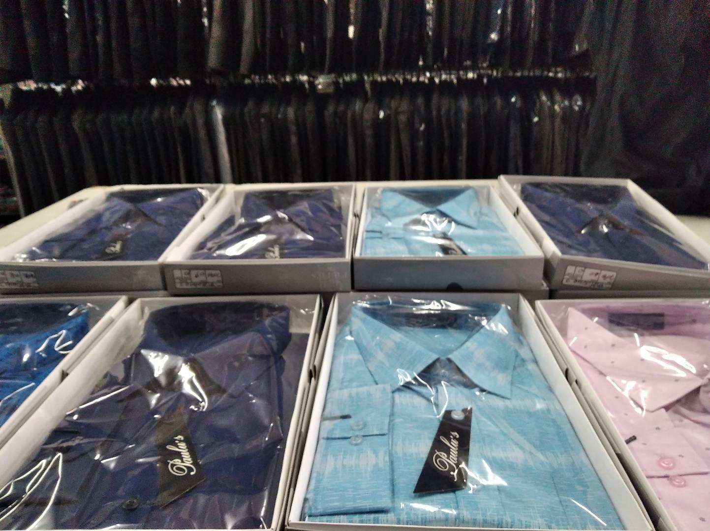 camisas 100 % algodão