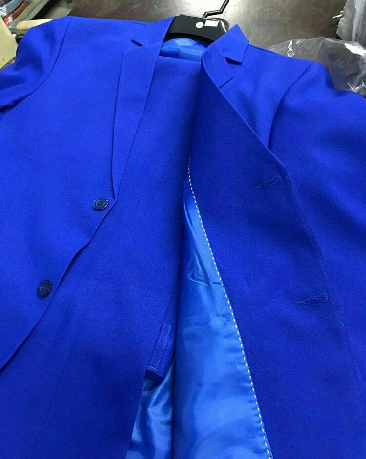 terno azul bic