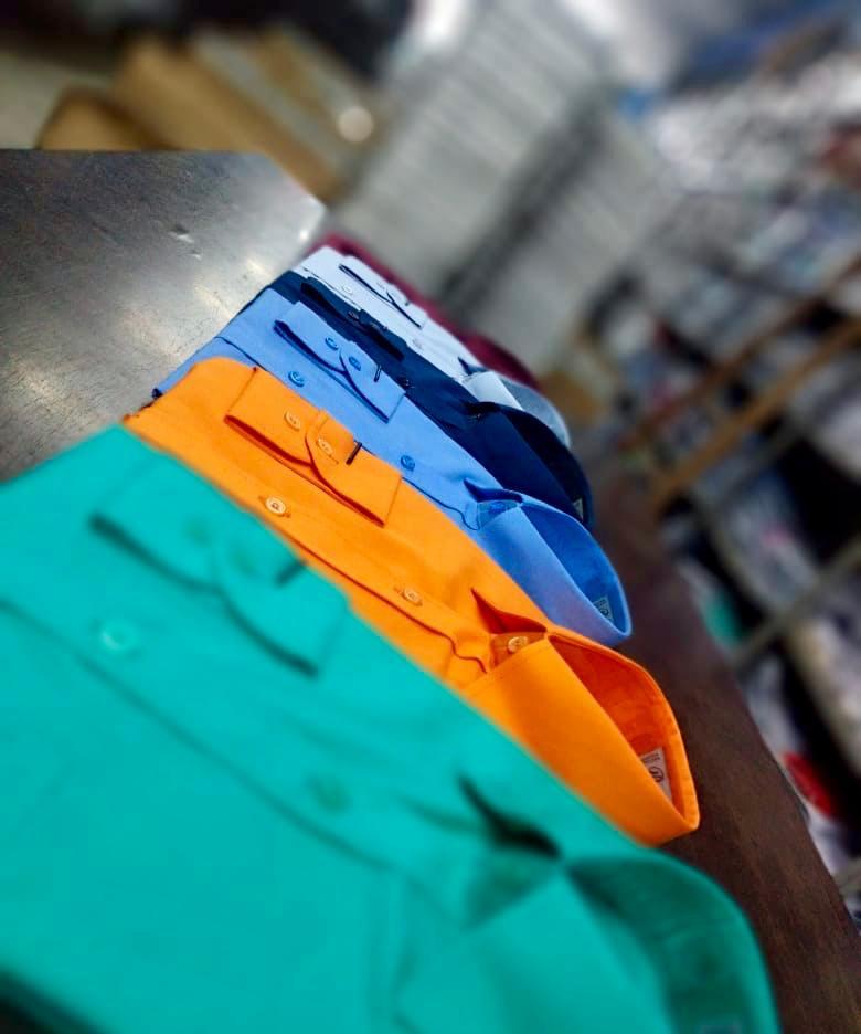 variedade em cores