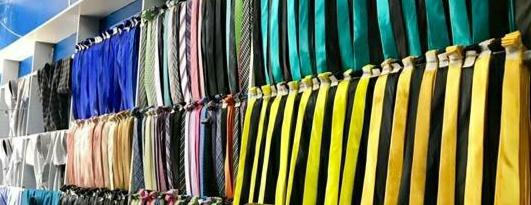 gravatas lisas e estampadas