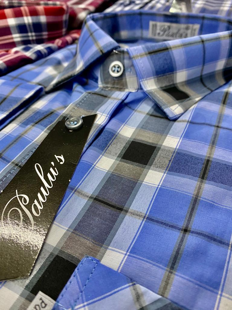 camisa xadrez Paulus