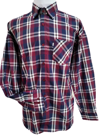 camisa polialgodão