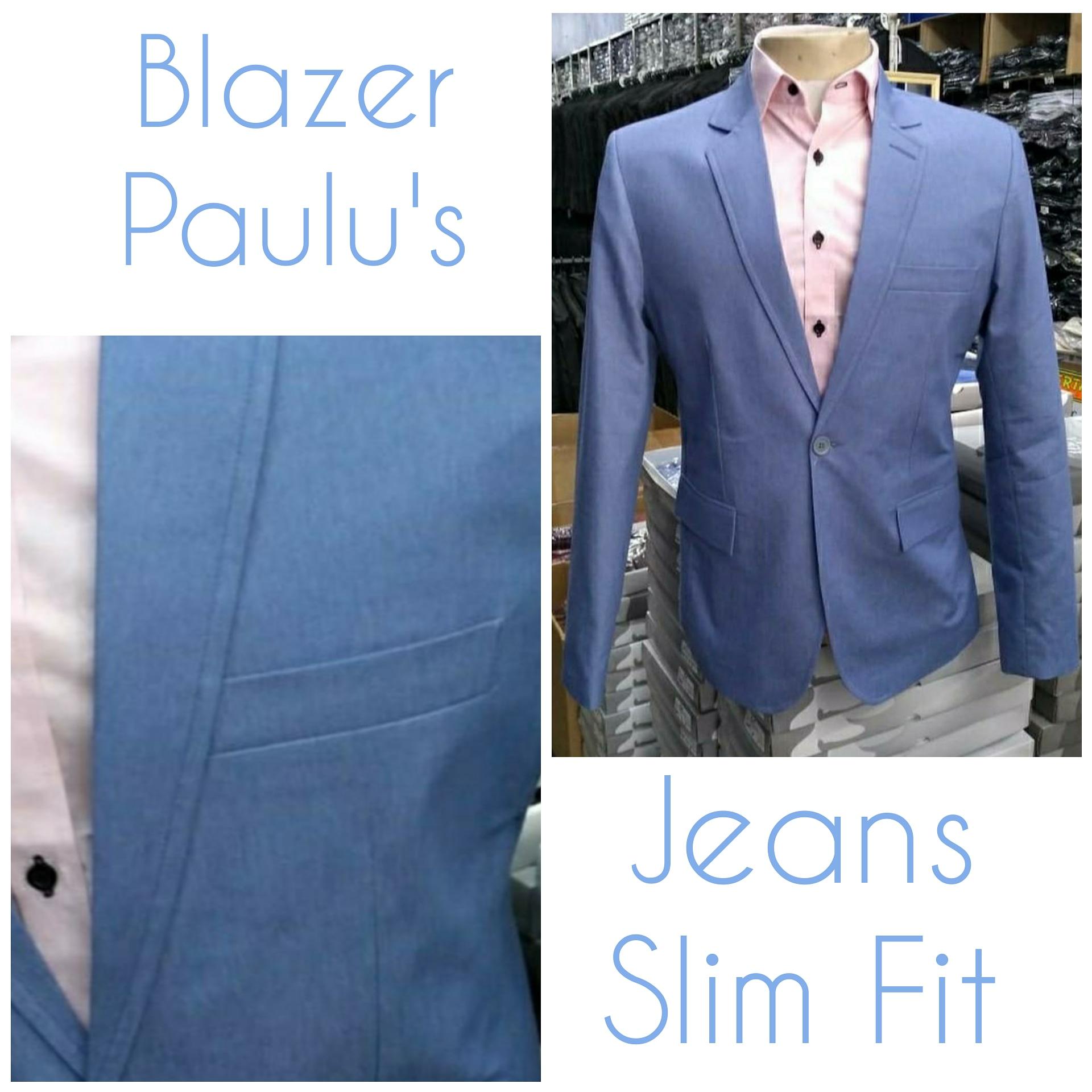 blazer jeans
