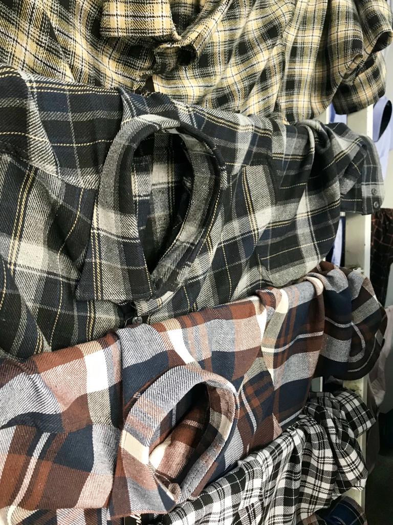 camisa flanela 1 ao 10