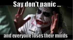 Nobody Panic...