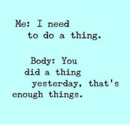 enough things