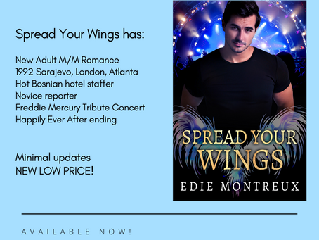 Spread Your Wings Is Live!