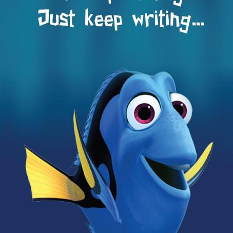 Just Keep Writing ...