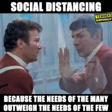 Going the Social Distance