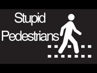 Public Service Announcement: Pedestrians, Listen Up