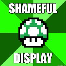 shameful