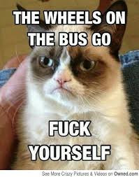 Tuesday's Top Ten Grumpy Cat Memes