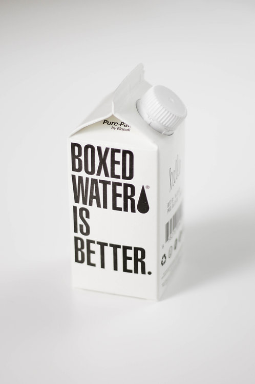 """Boxed Water Is Better"" Reusable Plant-Based Bottle"