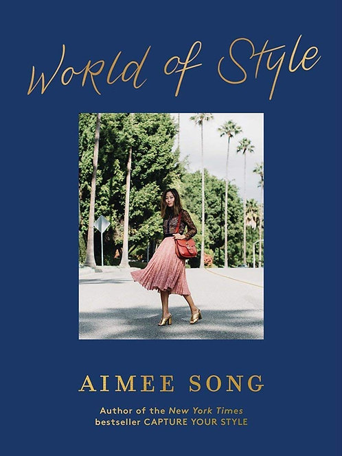 """World of Style"" Coffee Table Book Prop by Aimee Song"