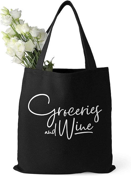 Food Blogger Black Tote Bag