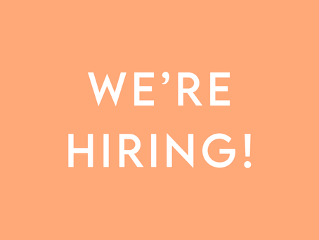 We're Hiring • Join Our Team!