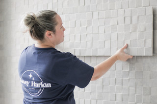 Kasey Harkin Custom Tile Installation in Rhode Island, Connecticut, Massachusetts, & all throughout New England, USA
