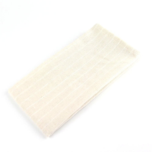 Striped Beige Linen (40x40cm)