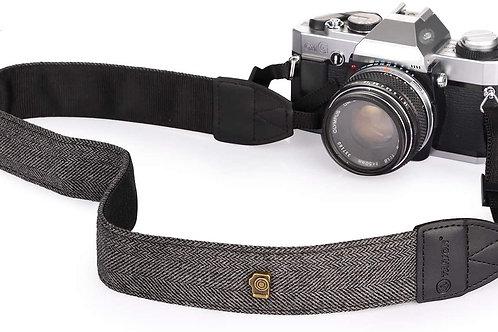 Charcoal Weave Camera Strap For DSLR Cameras