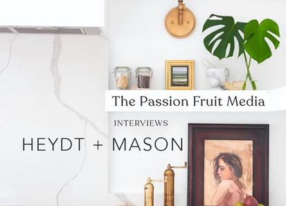 How HEYDT + MASON Strategically & Aesthetically Use Social Media To Grow Their Creative Agency