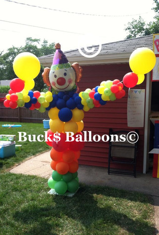 Circus Theme - Balloon Clown