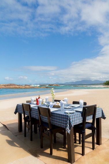 Lunch on the beach