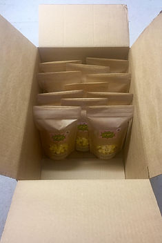 Gourmet Jackson Hole POP fine artisan popcorn retail bags packed and ready to ship