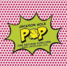 Gourmet Jackson Hole POP fine artisan popcorn sticker