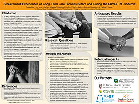 Bereavement Experiences of Long-Term Care Families Before and During the COVID-19 Pandemic