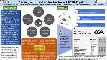 Assessing mechanical cardiac function in COVID-19 patients