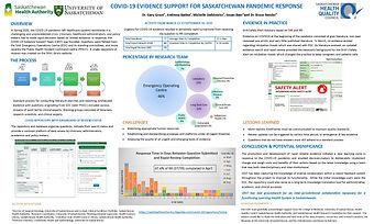 COVID-19 Evidence Support for Saskatchewan Pandemic Response