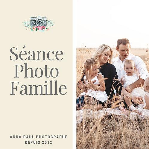 Séance photo Famille  2 heures